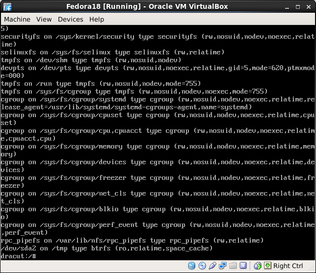 Use the dracut shell to troubleshoot filesystems | linuxsysconfig