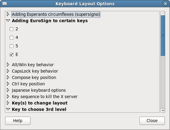 Euro key support on US keyboards | linuxsysconfig